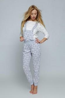 Pižama, Komplet Komplet Model Lovely White/Grey - Sensis