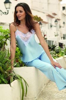 Komplet Model Melanie Baby Blue - DKaren