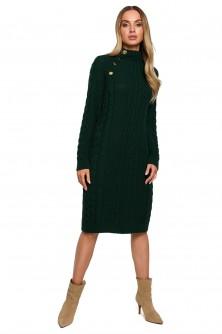Dress Sukienka Model MOE635 Green - Moe
