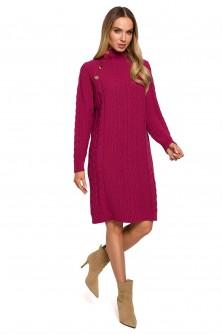 Dress Sukienka Model MOE635 Pink - Moe