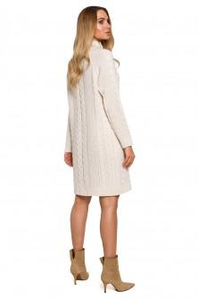 Dress Sukienka Model MOE635 Beige - Moe