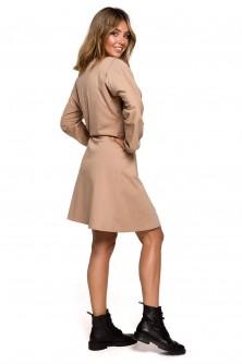 Dress Sukienka Model B208 Orzech - BE