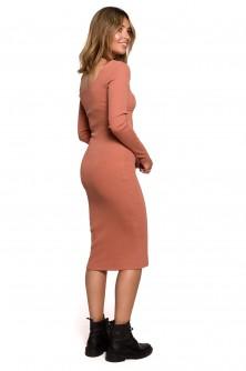 Dress Sukienka Model B207 Cegła - BE