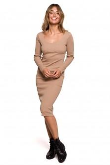 Dress Sukienka Model B207 Orzech - BE