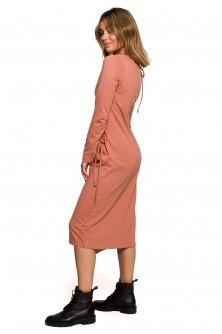 Dress Sukienka Model B206 Cegła - BE