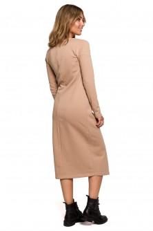 Dress Sukienka Model B206 Orzech - BE